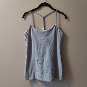Lululemon Power Y Tank Grey